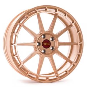 Cerchi in lega  Tec-Speedwheels  GT8  18''  Width 8   5x100  ET 40  CB 64    Rosé-Gold