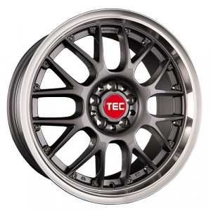 Cerchi in lega  TEC-Speedwheels  GT-AR1  19''  Width 9,5   5x112  ET 35  CB 72,5    Anthrazit-Glanz-Hornpoliert