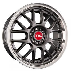 Cerchi in lega  TEC-Speedwheels  GT-AR1  19''  Width 9,5   5x120  ET 20  CB 74,1    Anthrazit-Glanz-Hornpoliert