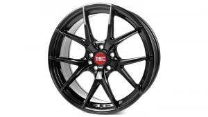 Cerchi in lega  TEC-Speedwheels  GT6 EVO  22''  Width 10   5x108  ET 35  CB 63,4    Schwarz-Glanz