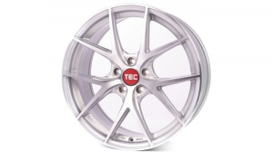 Cerchi in lega  TEC-Speedwheels  GT6 EVO  22''  Width 10   5x120  ET 20  CB 74,1    Brillant-Silber-Frontpoliert