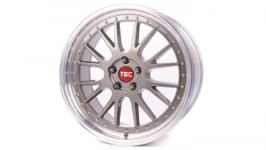 Cerchi in lega  TEC-Speedwheels  GT EVO  20''  Width 10   5x120  ET 45  CB 72,6    Titan-Glanz-Hornpoliert