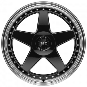 Cerchi in lega  TEC-Speedwheels  GT EVO-R  20''  Width 8,5   5x108  ET 45  CB 72,5    schwarz-glanz-hornpoliert