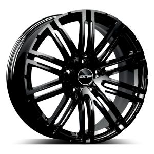 Cerchi in lega  GMP Italia  Targa  20''  Width 9,0   5x130  ET 58  CB 71,6    Glossy Black