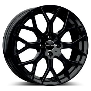 Cerchi in lega  GMP Italia  N80  17''  Width 7,0   4x98  ET 35  CB 58,1 OF FIAT    Glossy Black