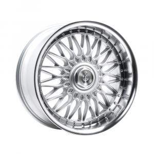 Cerchi in lega  AXE  EX10  18''  Width 9   4x98  ET 40  CB 73.1    Silver & Polished Lip