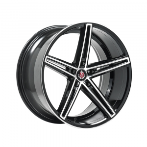 Cerchi in lega  AXE  EX14  19''  Width 8.5   5x114.3  ET 42  CB 73.1    Black & Polished