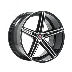 Cerchi in lega  AXE  EX14  19''  Width 9.5   5x130  ET 42  CB 72.6    Black & Polished