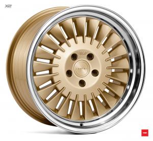 Cerchi in lega  Ispiri  CSR1D  18''  Width 8,5   5x120  ET 35  CB 72.56    Vintage Gold Polished Lip
