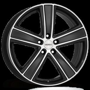 Cerchi in lega  DEZENT  TH dark  18''  Width 8   5x120  ET 50  CB 65,1    Black/polished