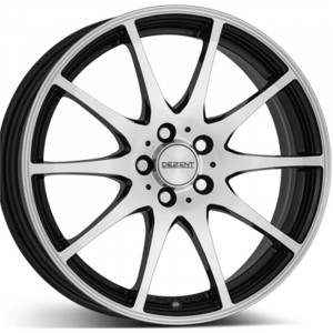 Cerchi in lega  DEZENT  TI dark  16''  Width 6,5   5x112  ET 33  CB 57,1    Black/polished