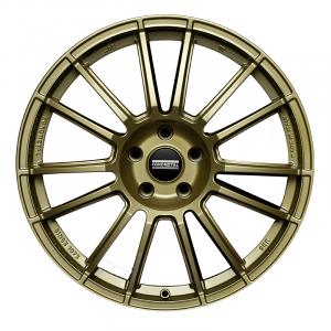 Cerchi in lega  Fondmetal  9RR  19''  Width 9.50   5x130  ET 52.00  CB 71.6    Glossy Gold