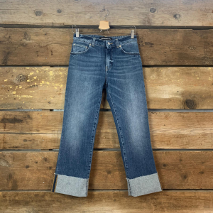 Jeans Department 5 Dry Con Risvolto Denim Blu