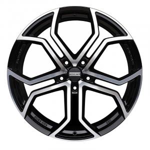 Cerchi in lega  Fondmetal  9XR  20''  Width 9.00   5x114.3  ET 40.00  CB 75.0 Ring Seat    Glossy Black Machined