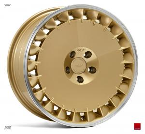 Cerchi in lega  Ispiri  CSRD-TF  18''  Width 9,5   5x100  ET 38  CB 57.1    Vintage Gold Polished Lip
