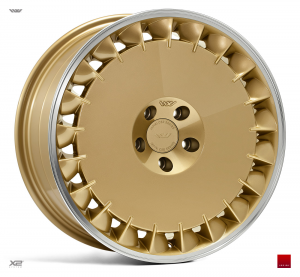 Cerchi in lega  Ispiri  CSRD-TF  19''  Width 8,5   5x112  ET 42  CB 66.56    Vintage Gold Polished Lip
