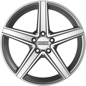 Cerchi in lega  Fondmetal  Ioke  18''  Width 8.00   5x112  ET 48.00  CB 66.5    Glossy Silver