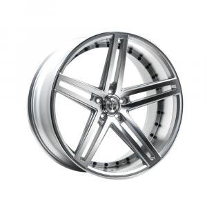 Cerchi in lega  AXE  EX20  22''  Width 10.5   5x108  ET 25  CB 74.1    Silver Polished Face & Barrel