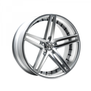 Cerchi in lega  AXE  EX20  22''  Width 10.5   5x120  ET 25  CB 74.1    Silver Polished Face & Barrel