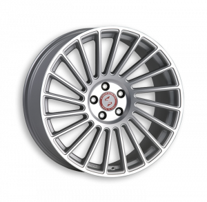 Cerchi in lega  ETABETA  Venti-R  20''  Width 8,5   5x130  ET 48  CB 71,6    Matt Silver Full Polish