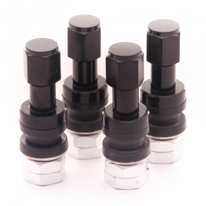 Set of Aluminum air valves JR v2 - BLACK