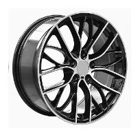 Cerchi in lega  PERFORMANCE  Dedica  BMW  20''  Width 8.5   5x120  ET 35  CB 72.6    BLACK/POLISHED-2