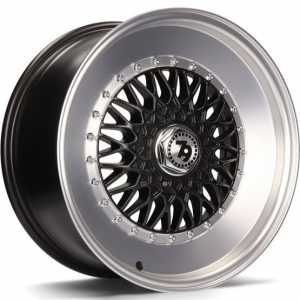 Cerchi in lega  79Wheels  SV-F  15''  Width 7   8x100/114  ET 30  CB 67,1    Matt Black Polished Lip