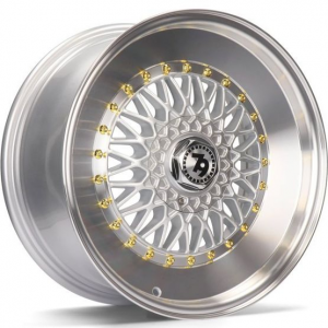 Cerchi in lega  79Wheels  SV-F  17''  Width 8   10x112/114  ET 30  CB 72,6    Silver Polished Lip