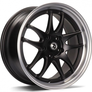 Cerchi in lega  79Wheels  SV-I  16''  Width 7   10x100/114  ET 35  CB 73,1    Matt Black Polished Lip