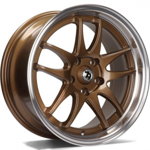 Cerchi in lega  79Wheels  SV-I  16''  Width 7   10x100/114  ET 35  CB 73,1    Bronze Polished Lip