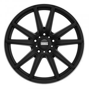 Cerchi in lega  Fondmetal  STC-10  22''  Width 9.00   5x114.3  ET 38.00  CB 75.0 Ring Seat    Matt Black Diamond Cut Lip