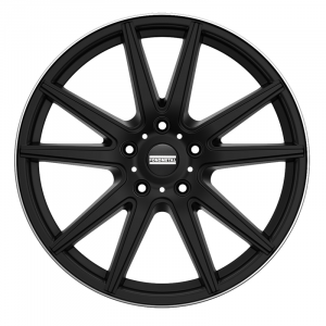Cerchi in lega  Fondmetal  STC-10  19''  Width 9.50   5x112  ET 35.00  CB 75.0 Ring Seat    Matt Black Diamond Cut Lip