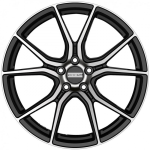 Cerchi in lega  Fondmetal  STC45  20''  Width 9.00   5x120  ET 42.00  CB 72.5    Glossy Black Machined