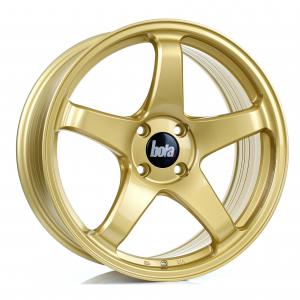 Cerchi in lega Bola  B2R  17''  Width 7.5   5X120  ET 40  CB 72,6  Gold