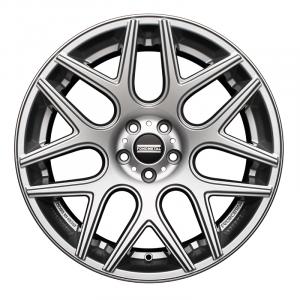 Cerchi in lega  Fondmetal  Moros  20''  Width 8.50   5x120  ET 45.00  CB 67.1    Glossy Silver