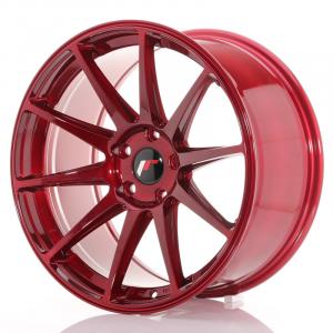 Cerchi in lega  JAPAN RACING  JR11  19''  Width 9,5   5x120  ET 35  CB 72,6    Red