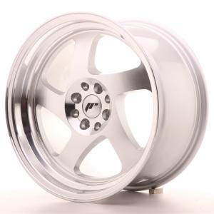 Cerchi in lega  JAPAN RACING  JR15  17''  Width 9   5x100/114,3  ET 25  CB 74,1    Machined Face Silver