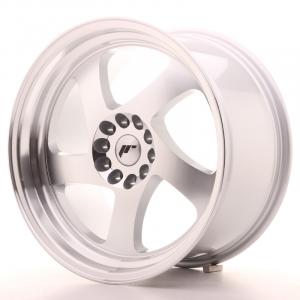 Cerchi in lega  JAPAN RACING  JR15  18''  Width 9,5   5x100/120  ET 35  CB 74,1    Machined Face Silver