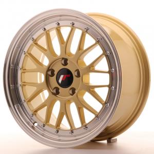 Cerchi in lega  JAPAN RACING  JR23  17''  Width 8   5x100  ET 35  CB 57,1    Gold