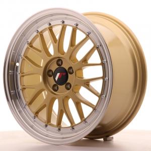 Cerchi in lega  JAPAN RACING  JR23  18''  Width 8,5   5x100  ET 35  CB 74,1    Gold