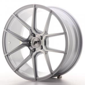 Cerchi in lega  JAPAN RACING  JR30  19''  Width 8,5   5x112  ET 40  CB 66,6    Machined Face Silver