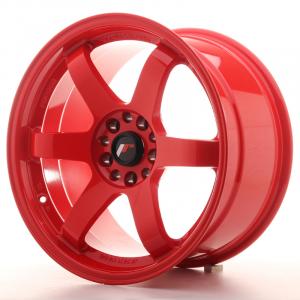 Cerchi in lega  JAPAN RACING  JR3  18''  Width 9,5   5x114,3/120  ET 15  CB 74,1    Red