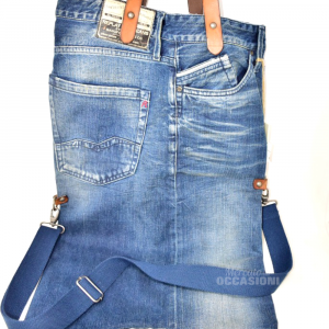 Borsa Replay In Jeans Con Tracolla