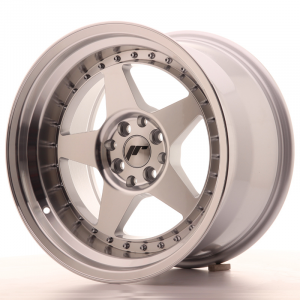 Cerchi in lega  JAPAN RACING  JR6  17''  Width 10   5x100/114,3  ET 20  CB 74,1    Machined Face Silver