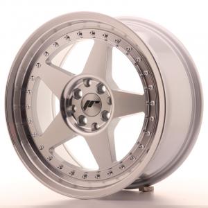 Cerchi in lega  JAPAN RACING  JR6  17''  Width 8   5x108/112  ET 35  CB 74,1    Machined Face Silver