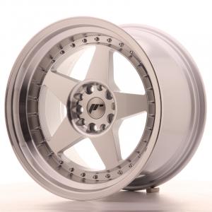 Cerchi in lega  JAPAN RACING  JR6  18''  Width 10,5   5x114,3/120  ET 25  CB 74,1    Machined Face Silver