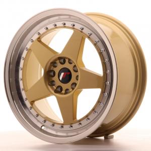 Cerchi in lega  JAPAN RACING  JR6  18''  Width 8,5   5x114,3/120  ET 22  CB 74,1    Gold