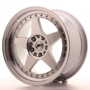 Cerchi in lega  JAPAN RACING  JR6  18''  Width 9,5   5x112/114,3  ET 40  CB 74,1    Machined Face Silver