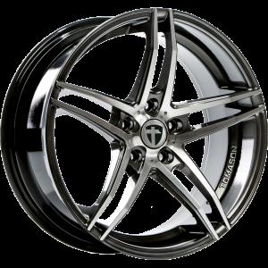 Cerchi in lega  TOMASON  TN12  18''  Width 8,5   5x114,3  ET 42  CB 72,6    Dark hyper black polished
