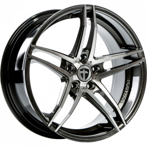 Cerchi in lega  TOMASON  TN12  19''  Width 8,5   5x115  ET 35  CB 70,2    Dark hyper black polished